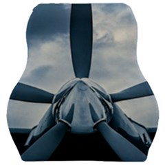 Propeller   Sky Challenger Car Seat Velour Cushion  by FunnyCow