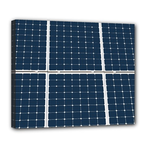 Solar Power Panel Deluxe Canvas 24  X 20   by FunnyCow
