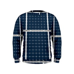 Solar Power Panel Kids  Sweatshirt by FunnyCow