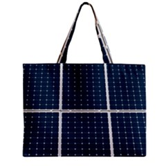 Solar Power Panel Zipper Mini Tote Bag by FunnyCow