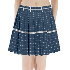 Solar Power Panel Pleated Mini Skirt by FunnyCow