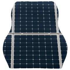 Solar Power Panel Car Seat Velour Cushion  by FunnyCow