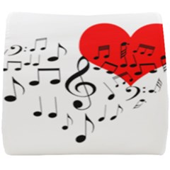 Singing Heart Seat Cushion by FunnyCow