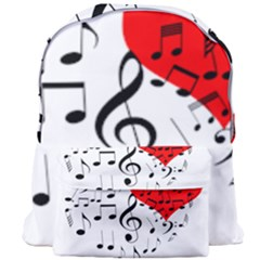 Singing Heart Giant Full Print Backpack by FunnyCow