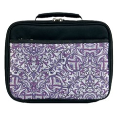 Colorful Intricate Tribal Pattern Lunch Bag by dflcprints