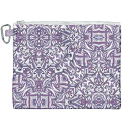Colorful Intricate Tribal Pattern Canvas Cosmetic Bag (xxxl) by dflcprints