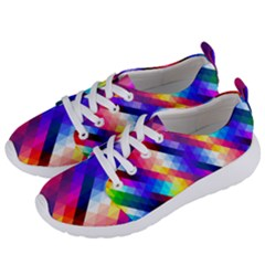 Abstract Background Colorful Pattern Women s Lightweight Sports Shoes by Nexatart