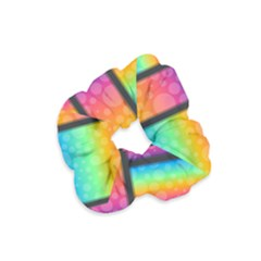 Background Colorful Abstract Velvet Scrunchie