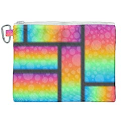 Background Colorful Abstract Canvas Cosmetic Bag (xxl)