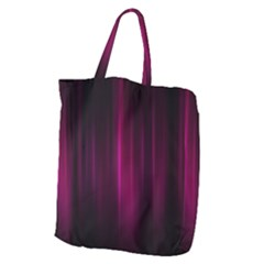 Theater Cinema Curtain Stripes Giant Grocery Tote