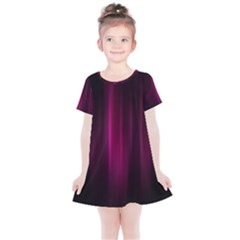 Theater Cinema Curtain Stripes Kids  Simple Cotton Dress