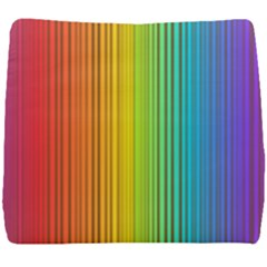Background Colorful Abstract Seat Cushion by Nexatart