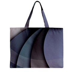 Abstract Background Abstraction Zipper Mini Tote Bag