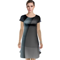 Abstract Background Abstraction Cap Sleeve Nightdress by Nexatart