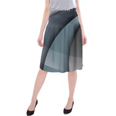 Abstract Background Abstraction Midi Beach Skirt