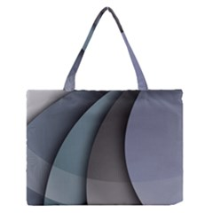 Abstract Background Abstraction Zipper Medium Tote Bag by Nexatart