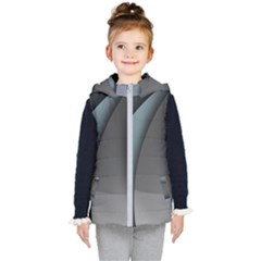 Abstract Background Abstraction Kid s Hooded Puffer Vest