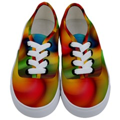 Abstract Spiral Art Creativity Kids  Classic Low Top Sneakers