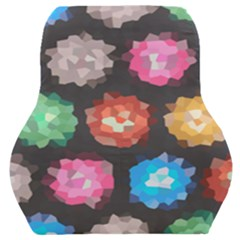 Background Colorful Abstract Car Seat Back Cushion