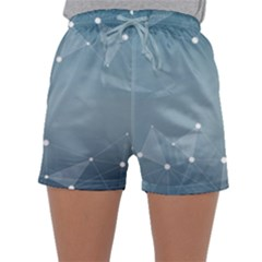 Background Abstract Line Sleepwear Shorts