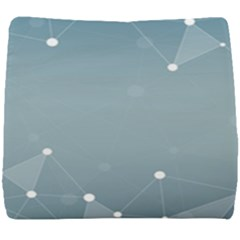Background Abstract Line Seat Cushion