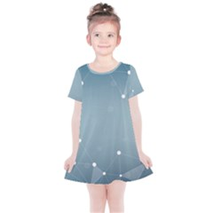 Background Abstract Line Kids  Simple Cotton Dress
