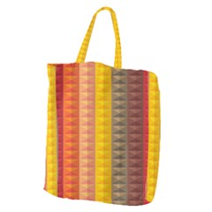 Abstract Pattern Background Giant Grocery Tote