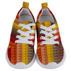 Abstract Pattern Background Kids  Lightweight Sports Shoes