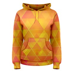 Background Colorful Abstract Women s Pullover Hoodie