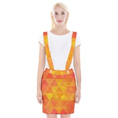 Background Colorful Abstract Braces Suspender Skirt