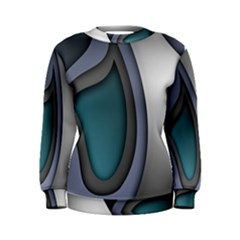 Abstract Background Abstraction Women s Sweatshirt