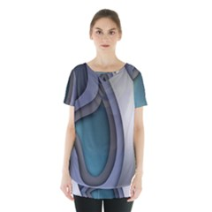 Abstract Background Abstraction Skirt Hem Sports Top by Nexatart