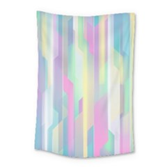 Background Abstract Pastels Small Tapestry by Nexatart