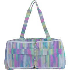 Background Abstract Pastels Multi Function Bag
