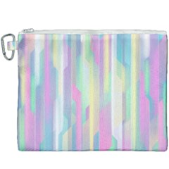 Background Abstract Pastels Canvas Cosmetic Bag (xxxl)