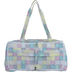 Background Abstract Pastels Square Multi Function Bag