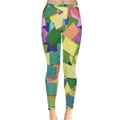 List Post It Note Memory Inside Out Leggings