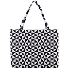 Triangle Pattern Simple Triangular Mini Tote Bag