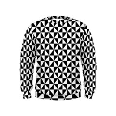 Triangle Pattern Simple Triangular Kids  Sweatshirt