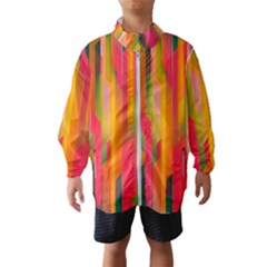 Background Abstract Colorful Windbreaker (kids)