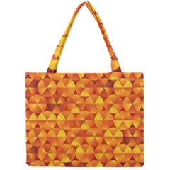 Background Triangle Circle Abstract Mini Tote Bag