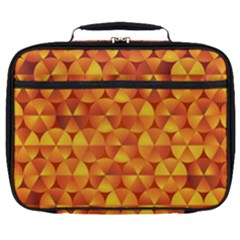 Background Triangle Circle Abstract Full Print Lunch Bag