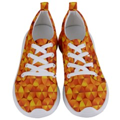 Background Triangle Circle Abstract Women s Lightweight Sports Shoes