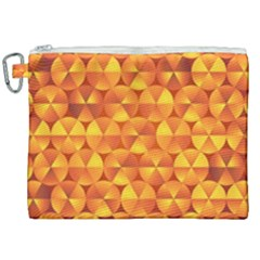 Background Triangle Circle Abstract Canvas Cosmetic Bag (xxl) by Nexatart