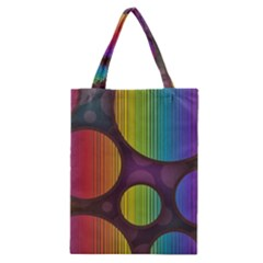 Background Colorful Abstract Circle Classic Tote Bag