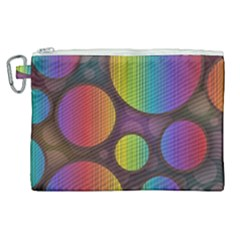 Background Colorful Abstract Circle Canvas Cosmetic Bag (xl) by Nexatart
