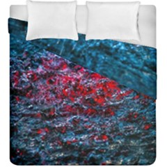 Water Color Red Duvet Cover Double Side (king Size)