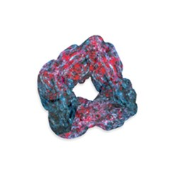 Water Color Red Velvet Scrunchie by FunnyCow