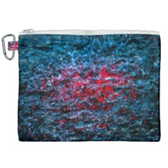 Water Color Red Canvas Cosmetic Bag (xxl) by FunnyCow