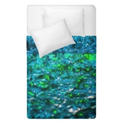 Water Color Green Duvet Cover Double Side (single Size) by FunnyCow